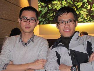 (圖左)葉鑫與(圖右)陳彥廷。吳怡萱/攝影